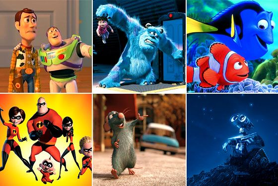 top 6 fave animated movies!