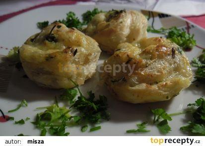 Sýrovo-bylinková  pochoutka (šneci)