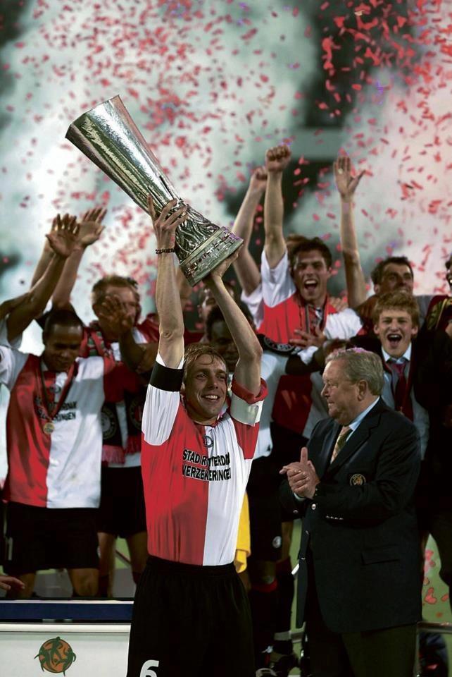 08 mei 2002: Feyenoord wint UEFA Cup in De Kuip.