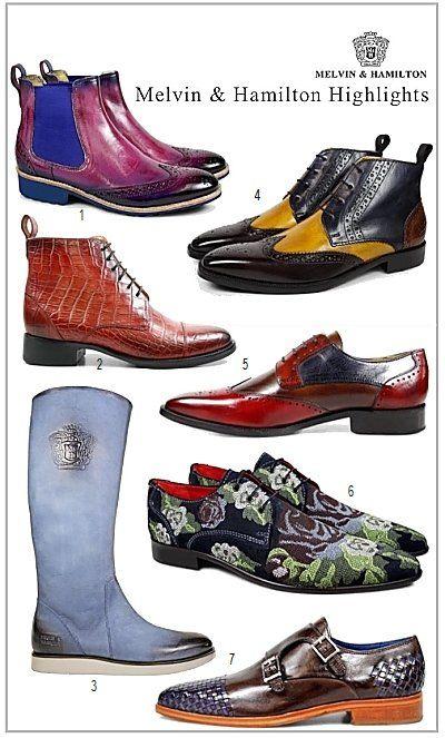 Extravagante Schuhe mit Stil  # Melvin & Hamilton #