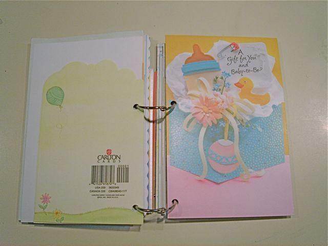 Turn Birthday Cards Into A Book Birthday Card Book Greeting Card Book Card Book