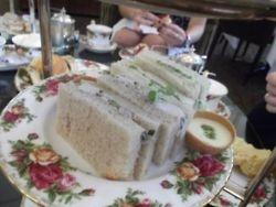 QVB High Tea - Delicious sandwiches