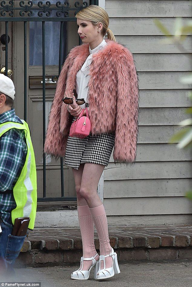 Emma Roberts as Chanel Oberlin in Scream Queens. Ideas for Halloween.