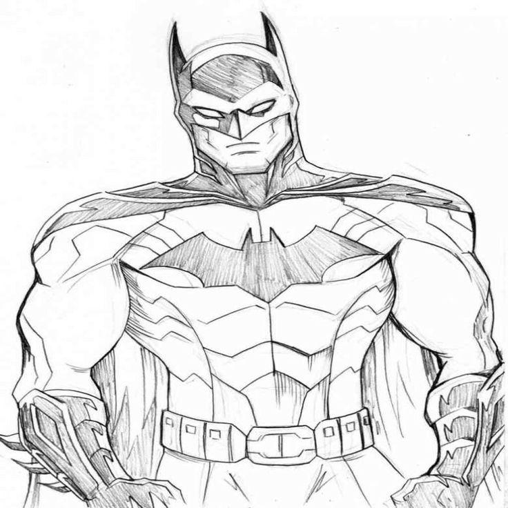 Mejores 31 Imágenes De Batman Para Colorear En Pinterest