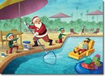 SW-00567 Industry Specific Christmas Card for the pool service industry.Pool Service Christmas Cards, Pool Service Holiday Cards, Pool Sales Christmas Cards, Pool Sales Holiday Cards, Swimming Pool Service Christmas Cards, Swimming Pool Service Holiday Cards, Swimming Pool Sales Christmas Cards, Swimming Pool Sales Holiday Cards, Swimming Pool Supply Christmas Cards, Swimming Pool Supply Holiday Cards.