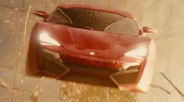 Behind the Scene, Lykan HyperSport's Jump in Fast and Furious 7!