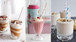 Mmm, milkshake! Foretrekker du sjokolade, oreo, jordbær eller en smak av Baileys? Her er ti forskjellige og smakfulle oppskrifter på hjemmelaget milkshake.