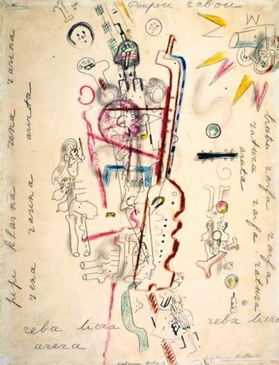 Antonin Artaud. Poupou rabou…