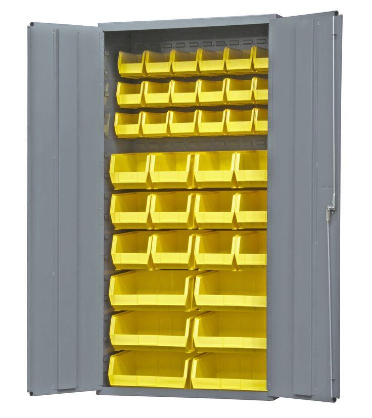 72 H X 36 W X 18 D Flush Door Style Storage Cabinet D