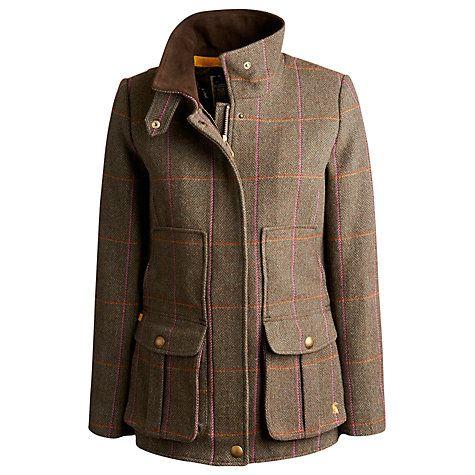 Buy Joules Field Coat, Hardytweed Online at johnlewis.com