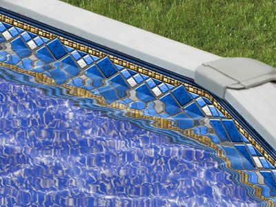 1000 images about above ground pool liners on pinterest a well other and round diamonds for Swimming pool liners wholesale