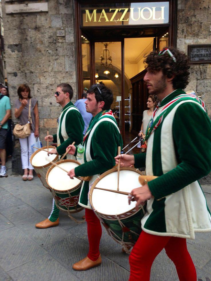 Celebrations in Siena