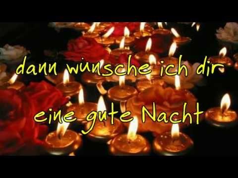 Ein lieber ♥♥ gute Nacht Gruß für dich - YouTube