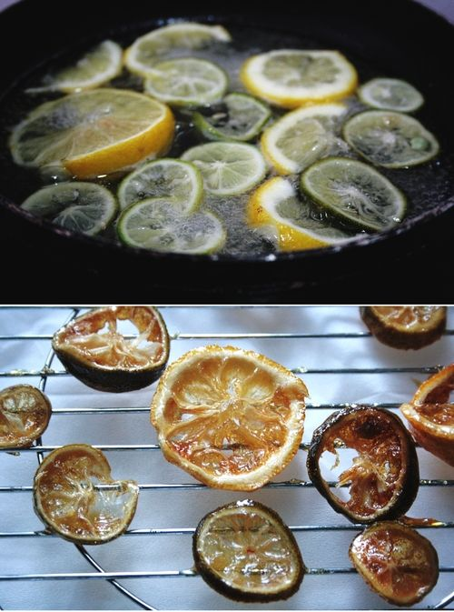 how to make candied lemon peel