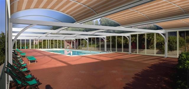 Telescopic Pool Enclosures