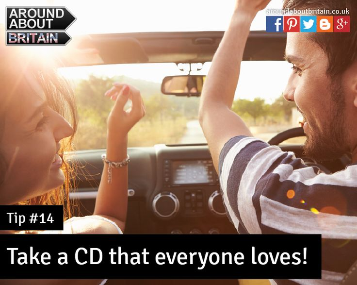 #Tip14 – Nothing is better than singing at top voice on a long journey! Take your favourite songs with you #Staycation