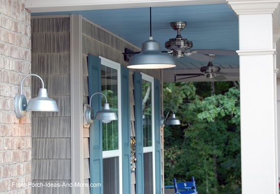 How To Swap An Old Porch Light With A Hanging Pendant