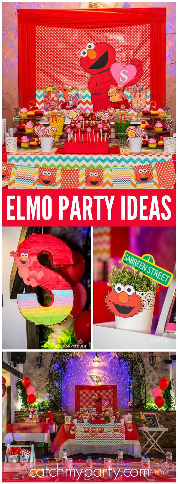 Elmo 1st birthday party ideas birthday party sesamestreet - Elmo Birthday Sabreen S Elmo Themed 2nd Birthday Party