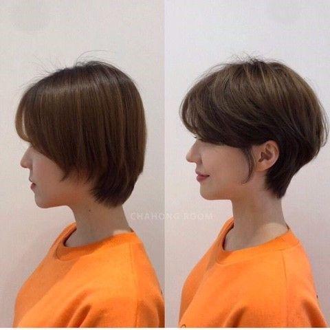 • hair만으로도 다른사람이~? 헤어스타일 전/후 : 네이버 블로그