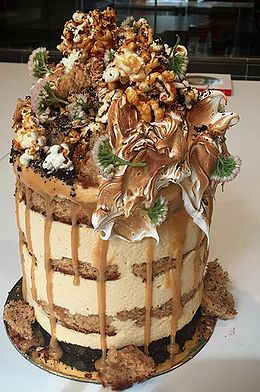 Photos of cakes by Andy Bowdy