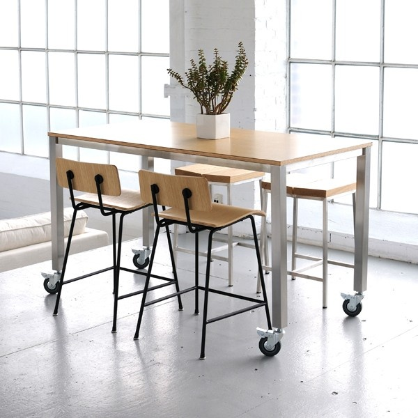 Gus Niagara Counter Table-Beautiful, versatile and available in two sizes and two wood finishes