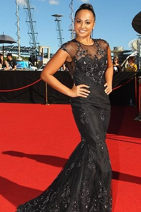 Jessica Mauboy at the ARIA awards