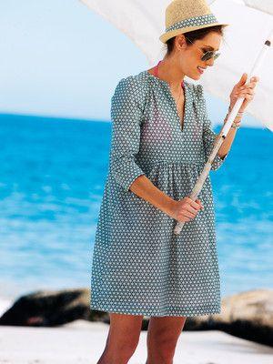 Schnittmuster: Kleid - kurz - Shirtkleider - Kleider - Damen - burda style