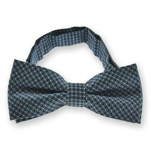 Self tie bow tie - Pale, dusty purple with tonal chevron pattern Notch