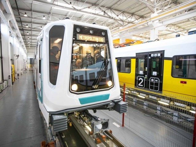 BULGARIA: The first metro train for Sofia metro Line 3 is nearing completion in Newag's Nowy Sącz factory, where it was presented to officials from...