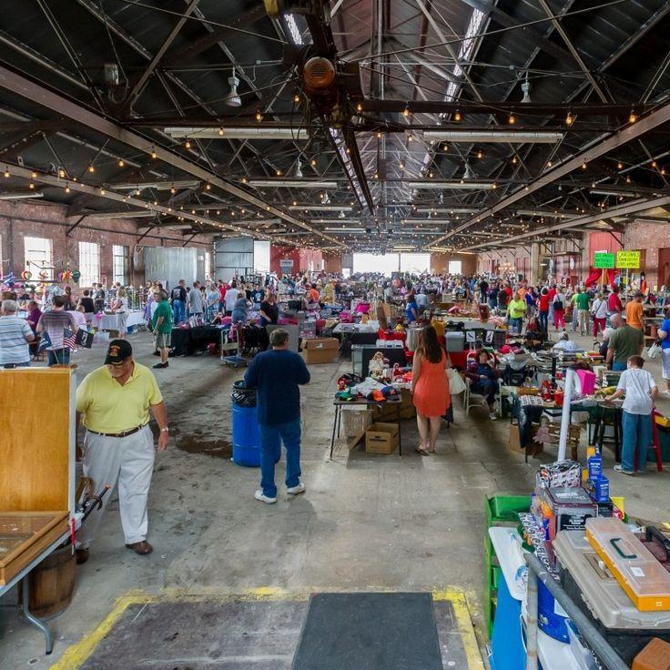 Grafton, Illinois - Riverside Flea Market