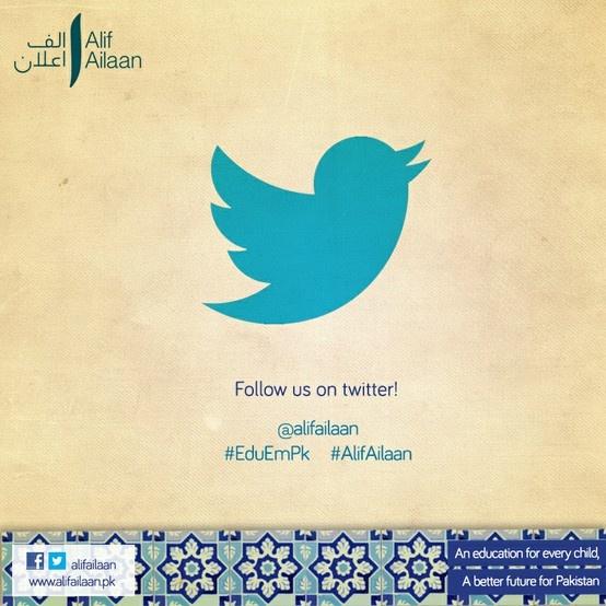 Follow us on twitter @alifailaan