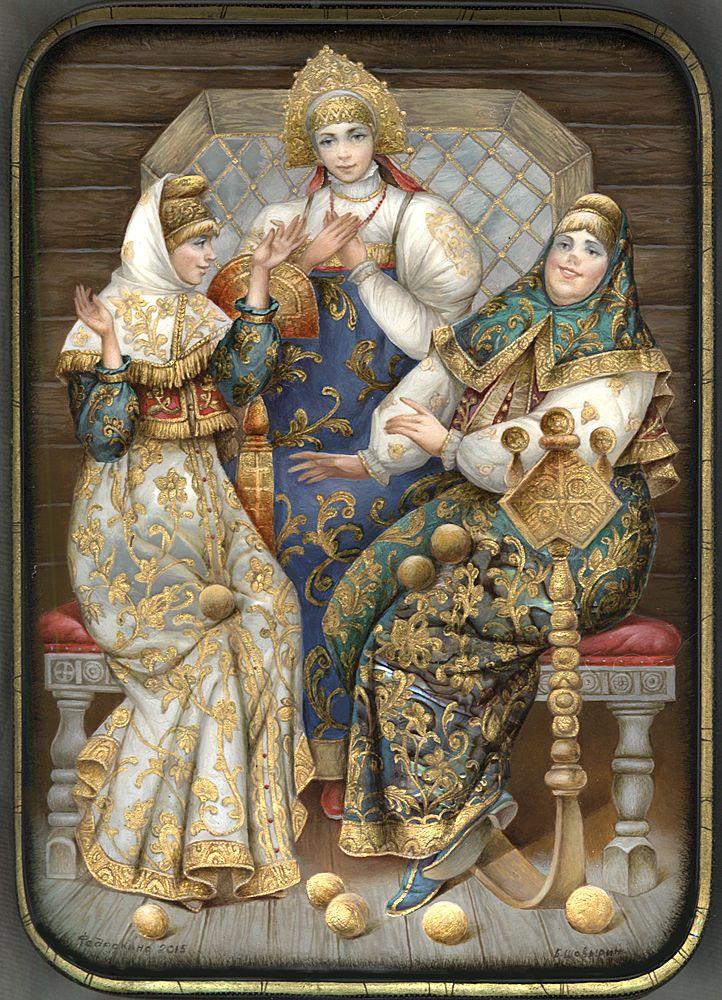 #russian fary tales #Russian art