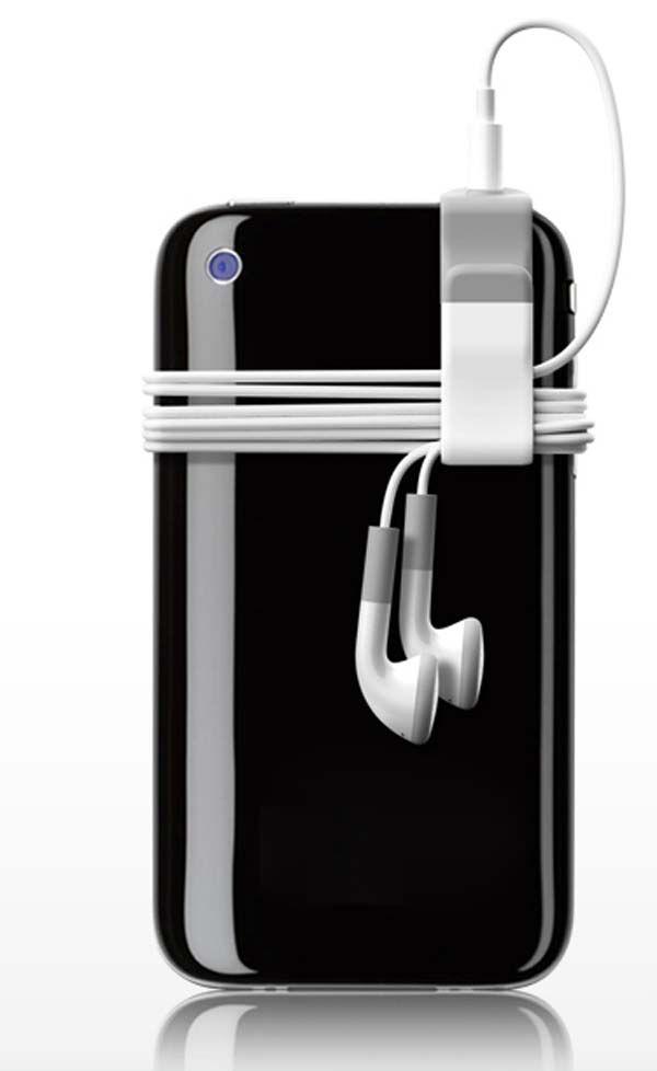 Esta  pinza tan simple acabará con los enredos de tus auriculares.