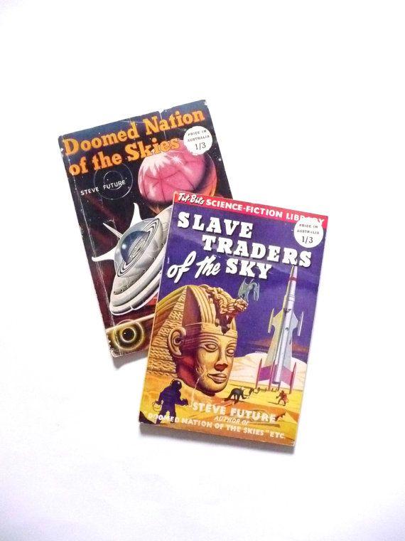 Retro Sci Fi Titbits Sience Fiction Library Books Steve Future