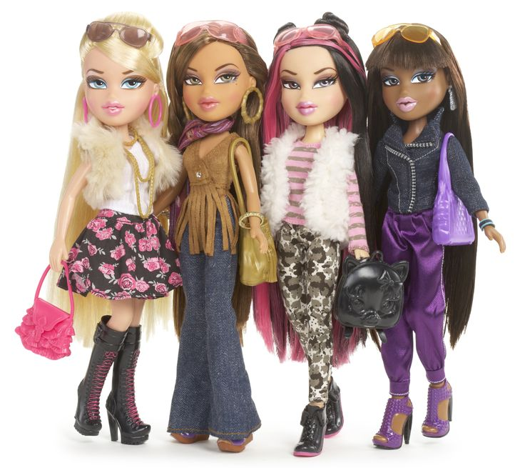 Bratz | ... she is drawn to the Bratz because they are very fashion-forward dolls
