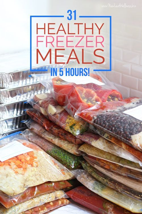 healthy freezer meals healthy freezer meals freezers and healthy on 30839