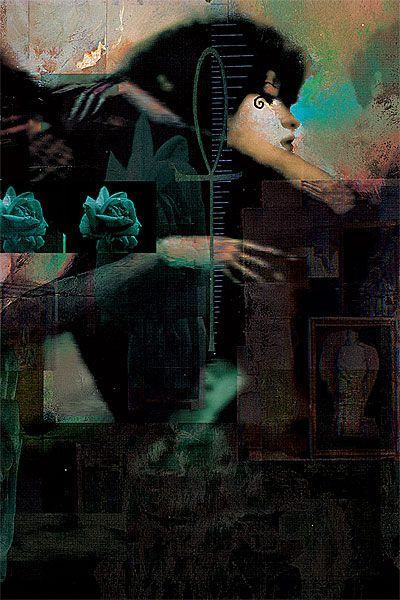 Dave McKean Sandman. // Hi Friends, look what I just found on #illustration! Make sure to follow us @moirestudiosjkt to see more pins like this | Moire Studios is a thriving website and graphic design studio based in Jakarta, Indonesia.
