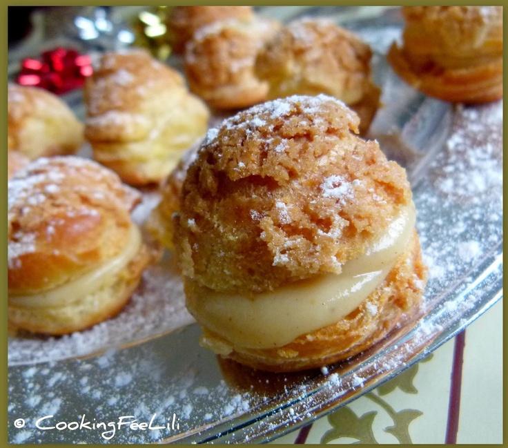 Choux à la crème... Craquelins aux épices de Noël
