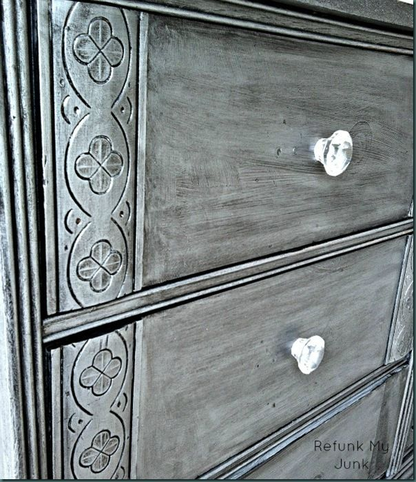 17 Best Ideas About Black Painted Dressers On Pinterest