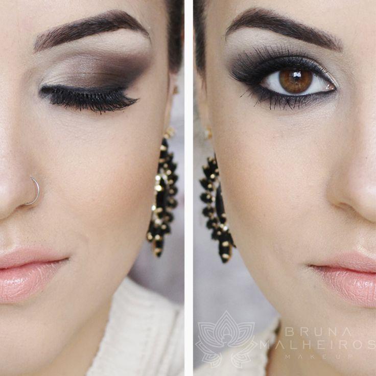 Bruna Malheiros Makeup » Blog Archive » Smokey Eyes Marrom: Usando Quarteto Dailus