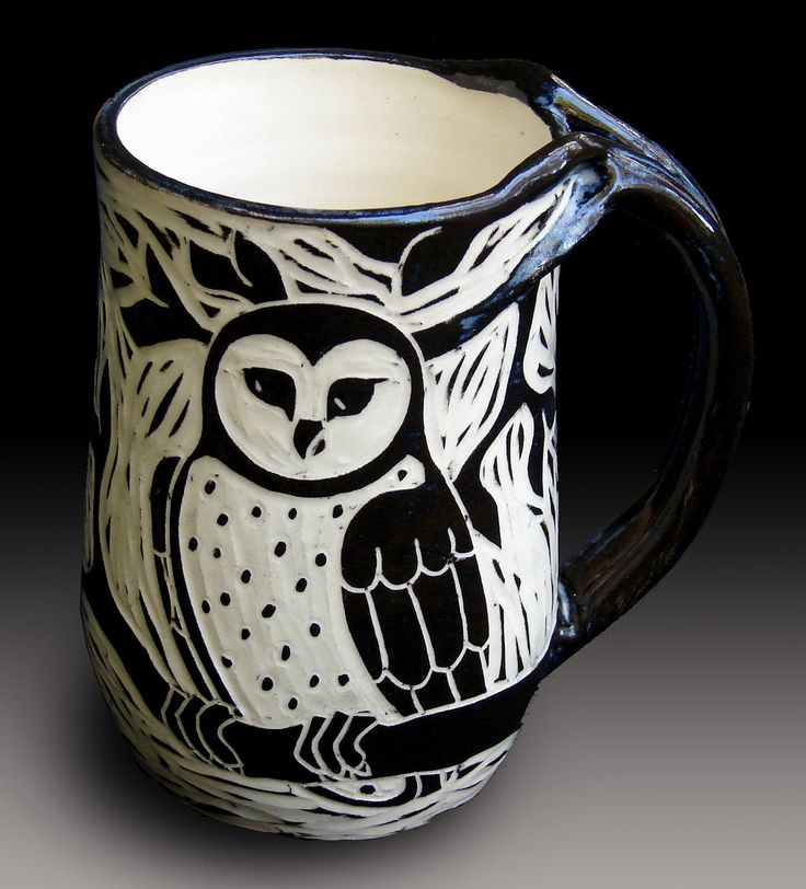 Owl Mug. $39.00, via Etsy.