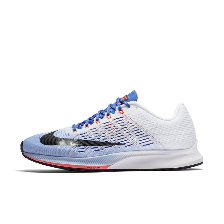 Nike Air Zoom Elite 9 Women's Running Shoe Size 10.5 (Blue) - Clearance Sale