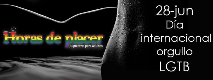 Horas de placer se sensibiliza con el colectivo LGTB. Feliz día del orgullo! #orgullo #LGTB #lesbiana @gay #transexsual #bisexual