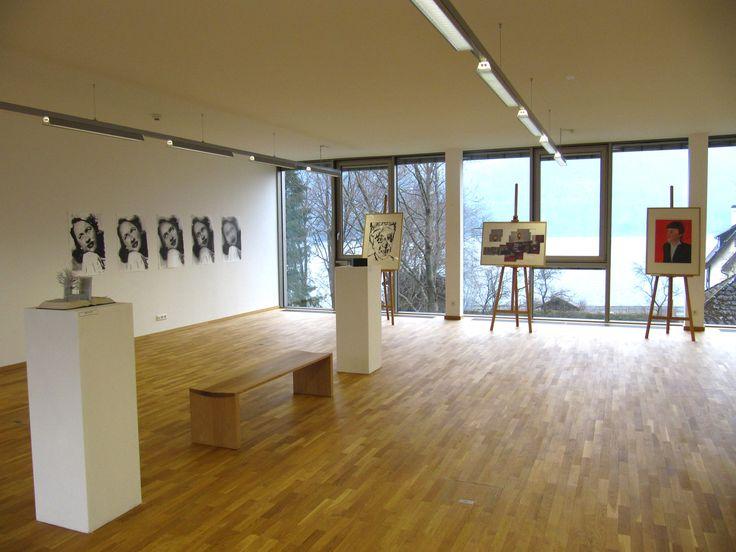 The student art exhibition