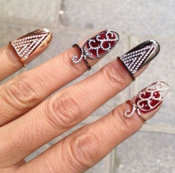 Nail Jewelry Rings Www Pixshark Com Images Galleries