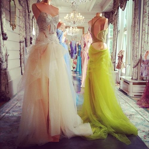 My dream walk in wardrobe where all my dresses are displayed #dreamer