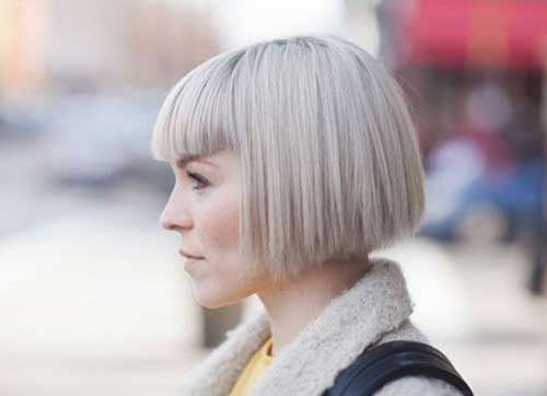Magnificent 33 Lovely Short Bob Hairstyles With Bangs Cool Trendy 2014 The Post