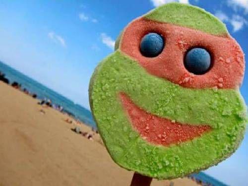 TMNT Ice Cream Bar