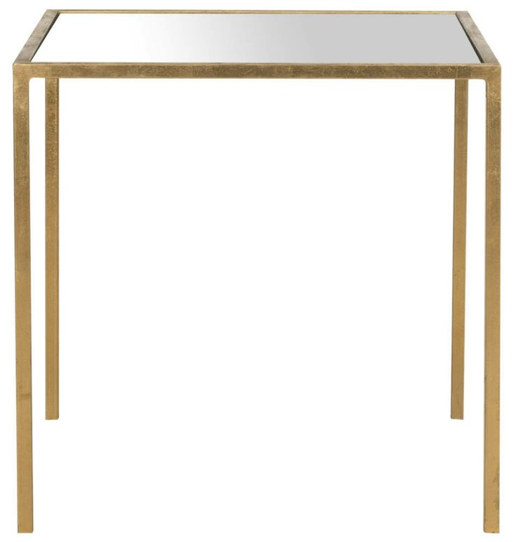kiley mirrored accent table