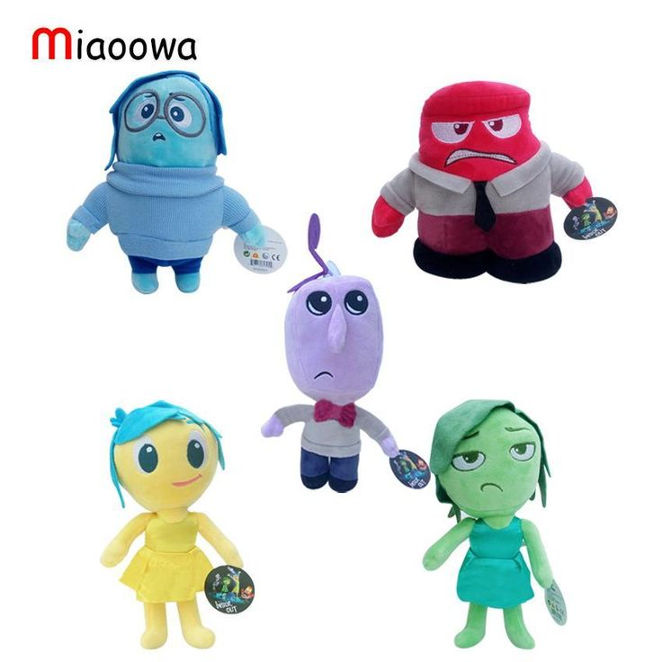 Hot New Pixar Movie Inside Out Plush Toys Stuffed Doll
